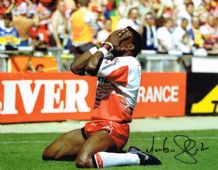 Martin Offiah Autograph Signed Photo - Rugby League